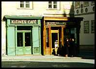 Kleines Cafe, an excellent small cafe in Vienna