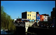 Camden: the bright colours