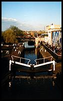 Camden: Camden Lock is an oasis of calm in North London