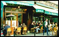 La Palette, my favourite cafe in France - rue de Seine, 6th arr., Paris, France