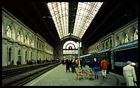 Budapest: the railway station was a very grand start to the day