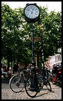 Maastricht: clocks on lampposts are nothing out of the ordinary