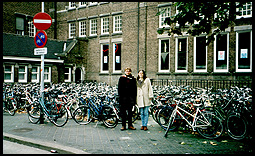 Katie Walker and myself in Maastricht, the Netherlands