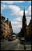 Edinburgh: looking East down the Royal Mile